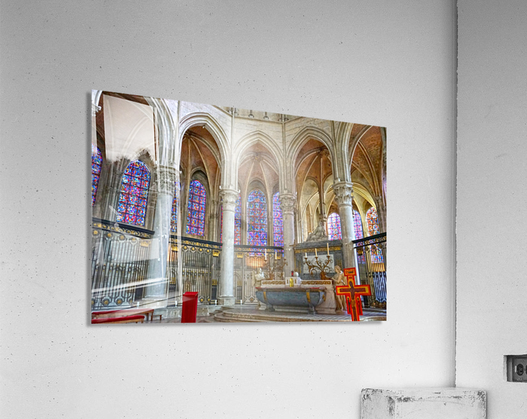 Immortal Cathedrale Saint Etienne 5 of 6  Acrylic Print