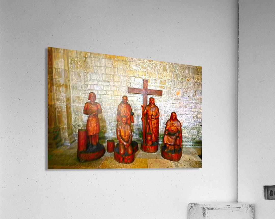 Basilica of Sainte Marie Madeleine 5 of 5 @  Vezelay France  Acrylic Print