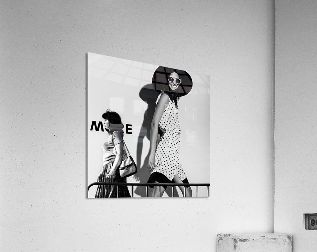 ME and My Expectations by Bobby Kostadinov   Acrylic Print