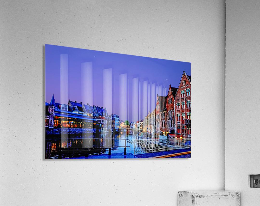 Wondrous Belgium  Acrylic Print