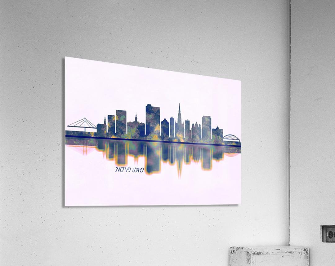 Novi Sad Skyline  Acrylic Print
