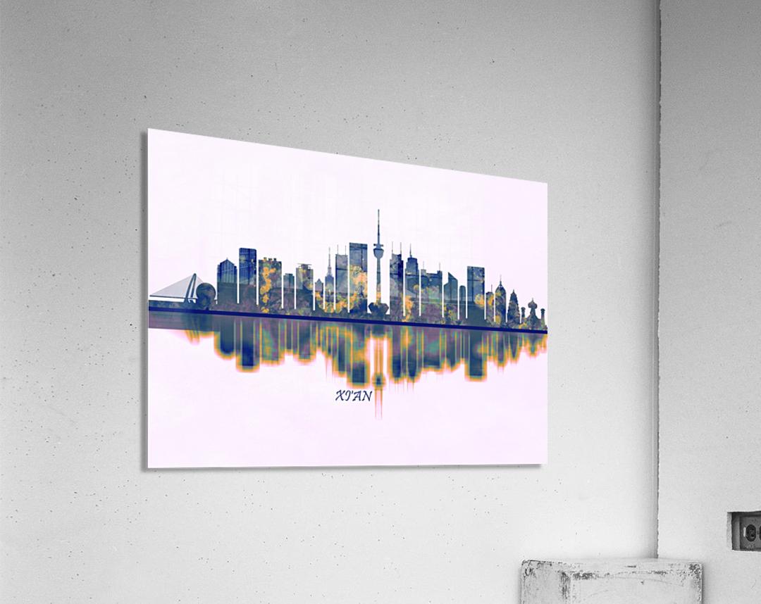 Xian Skyline  Acrylic Print
