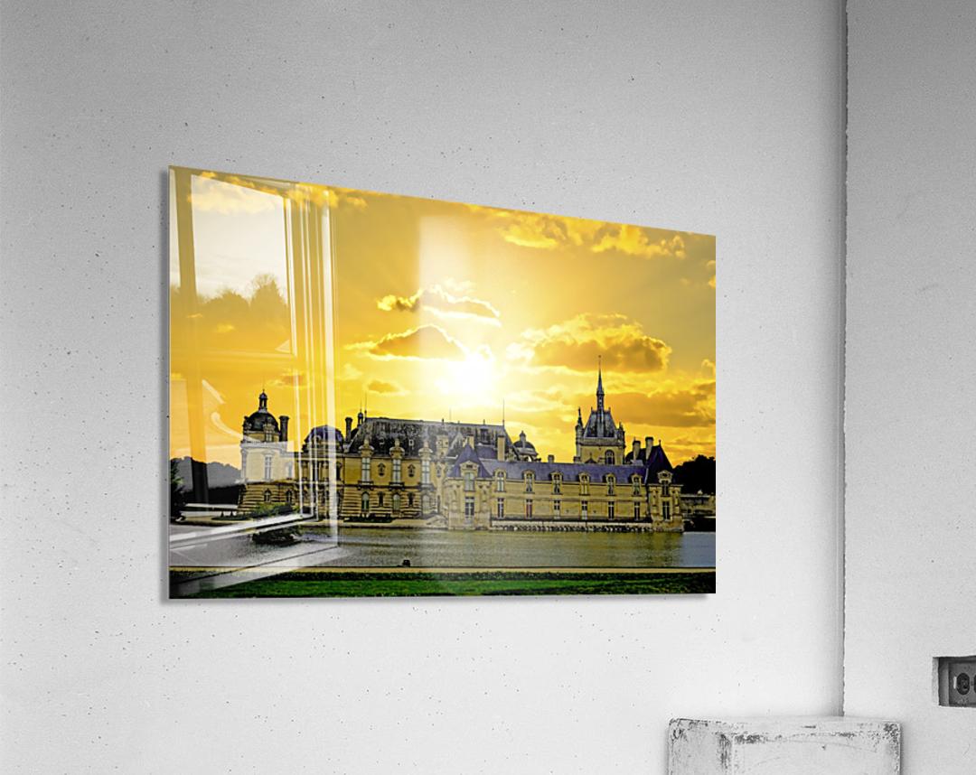 Chateau de Fontainebleau  Acrylic Print
