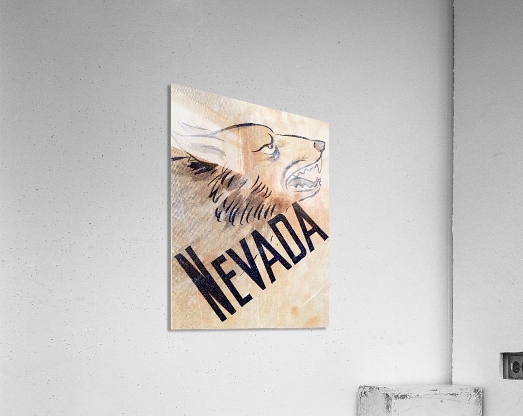1946 Nevada Wolfpack Art  Acrylic Print