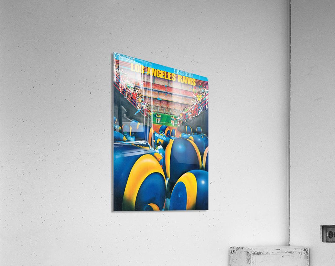 1984 Los Angeles Rams Enter The Field  Acrylic Print