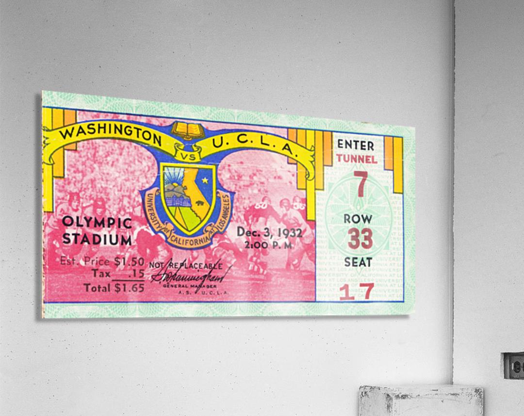 1932 Washington vs. UCLA  Acrylic Print