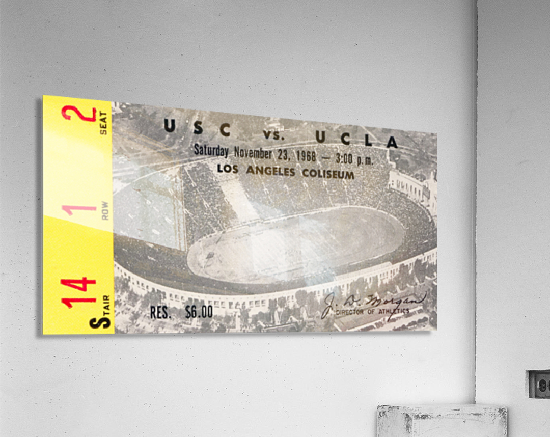 1968 UCLA vs. USC  Acrylic Print