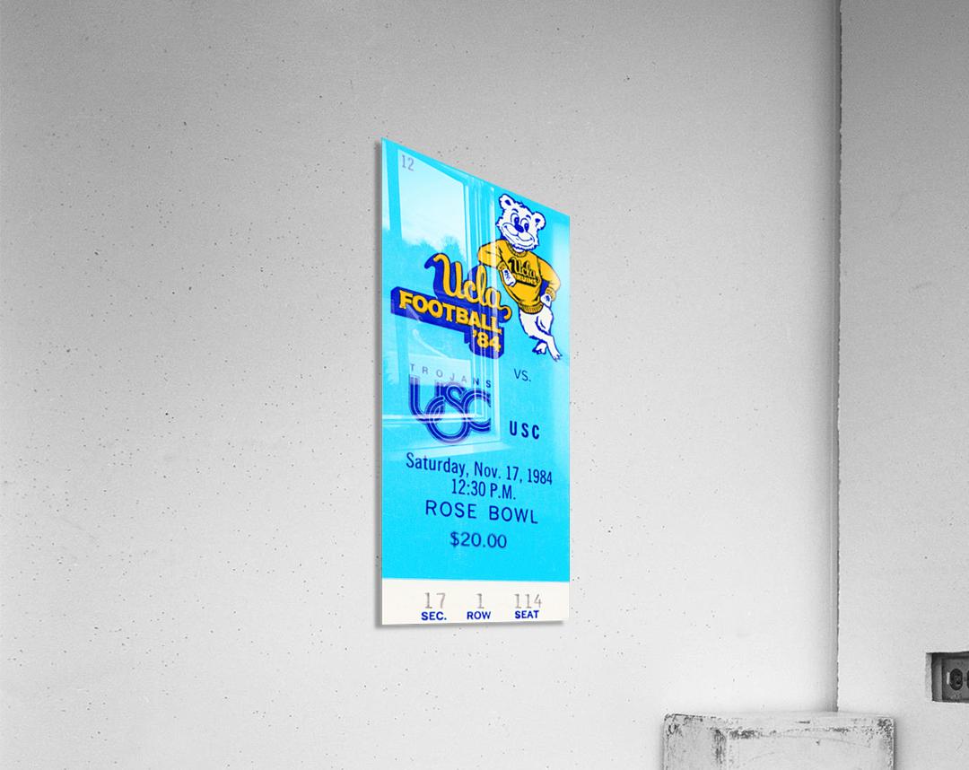 1984 USC vs. UCLA  Acrylic Print