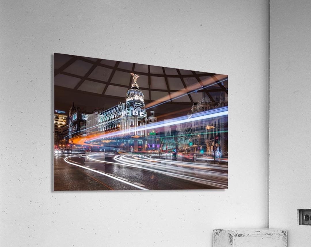 Madrid Traffic  Acrylic Print