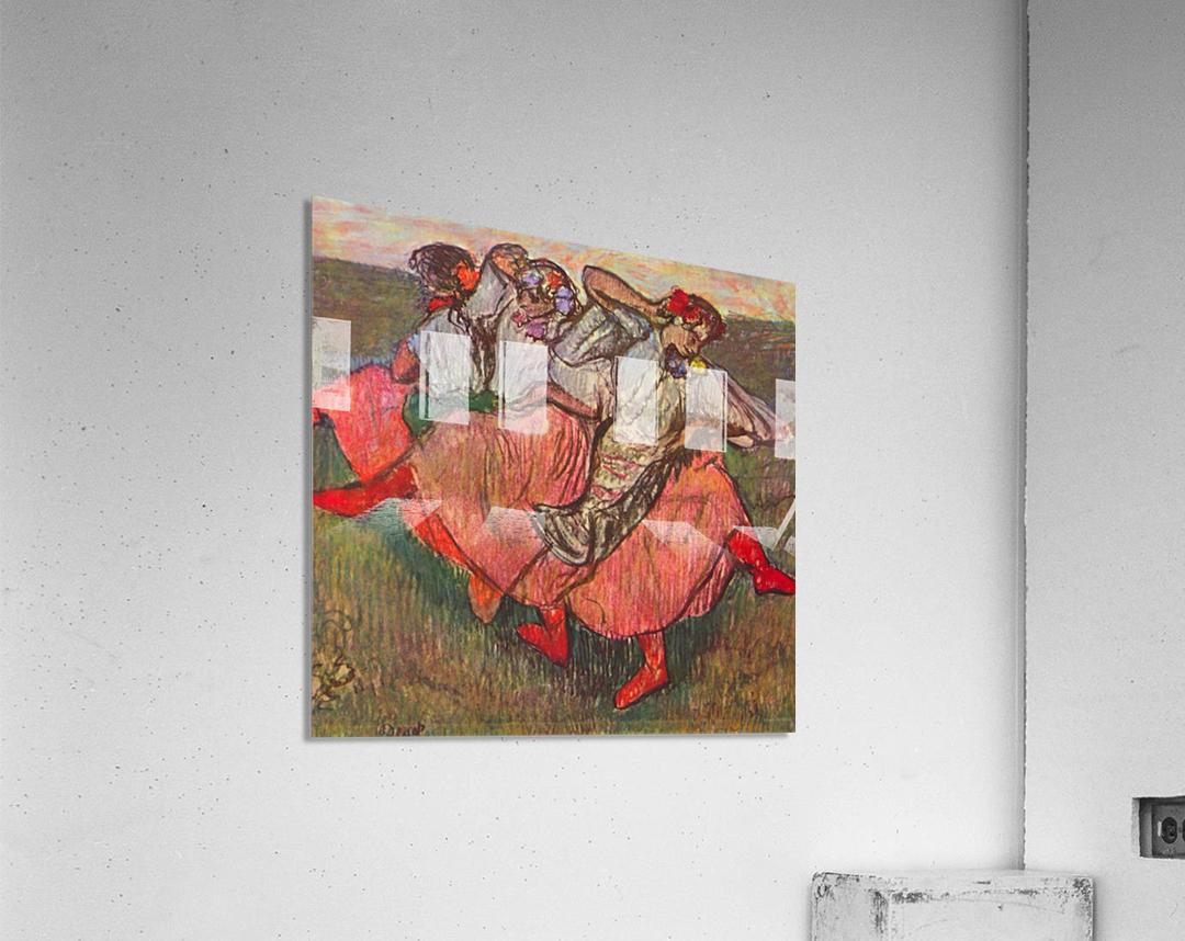 Russian Dancers by Degas  Acrylic Print