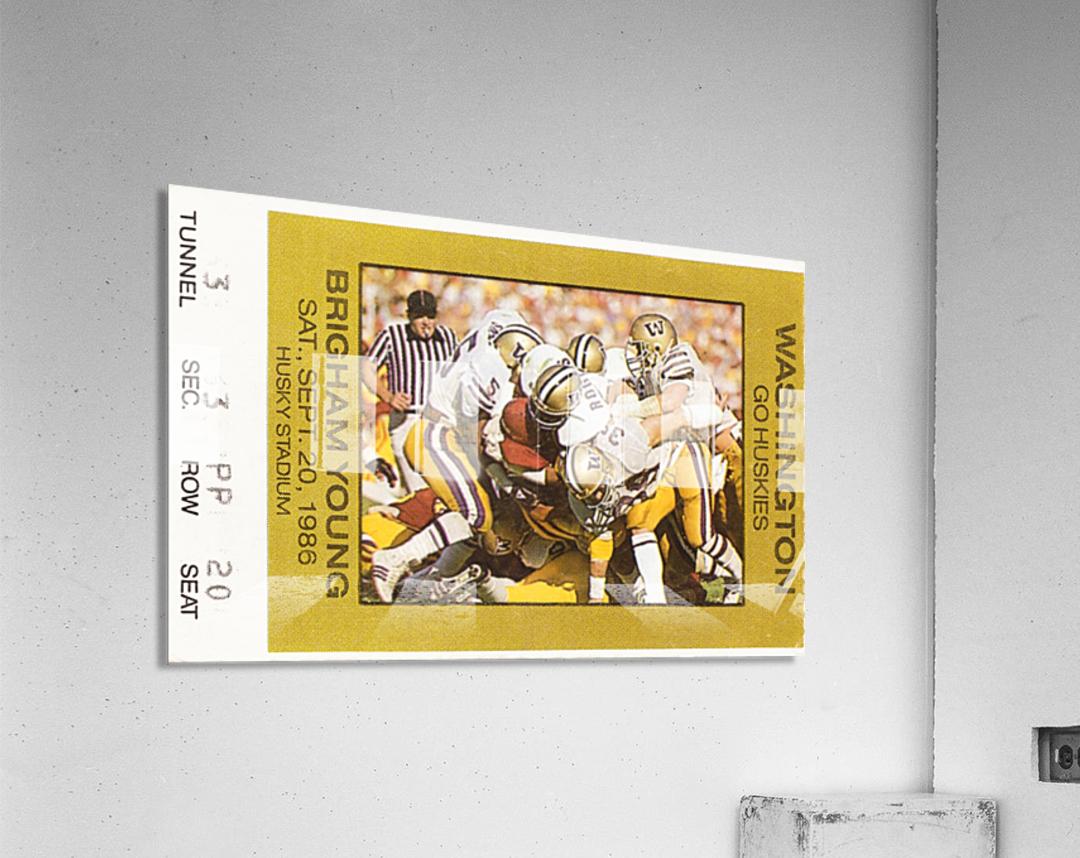 1986 Washington vs. BYU  Acrylic Print