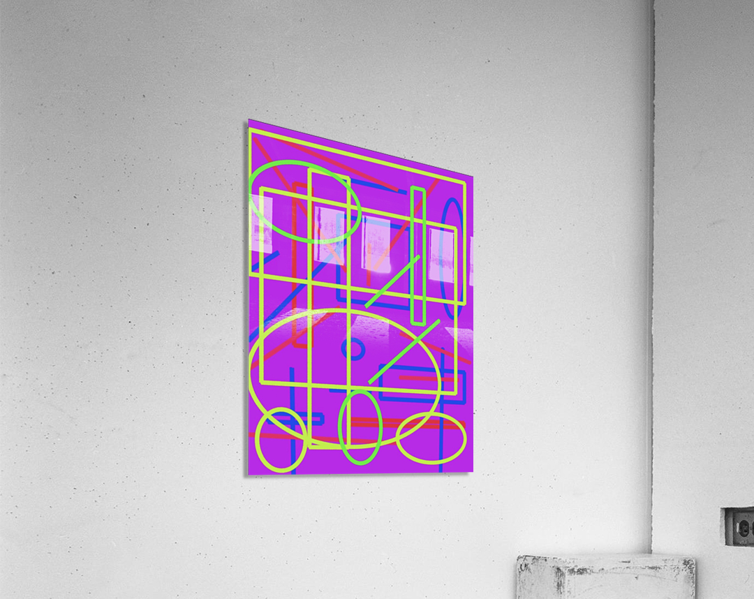 The matrix   Acrylic Print