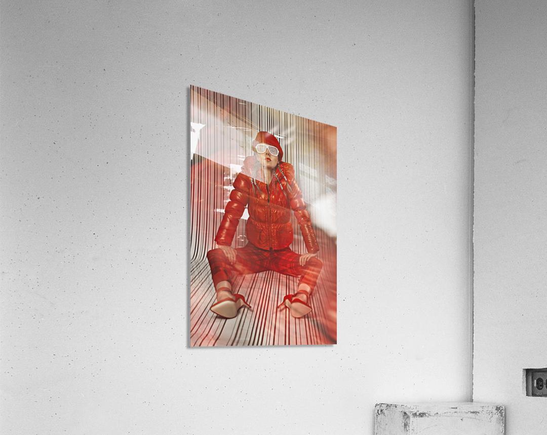 Funky Petroleum II  Acrylic Print