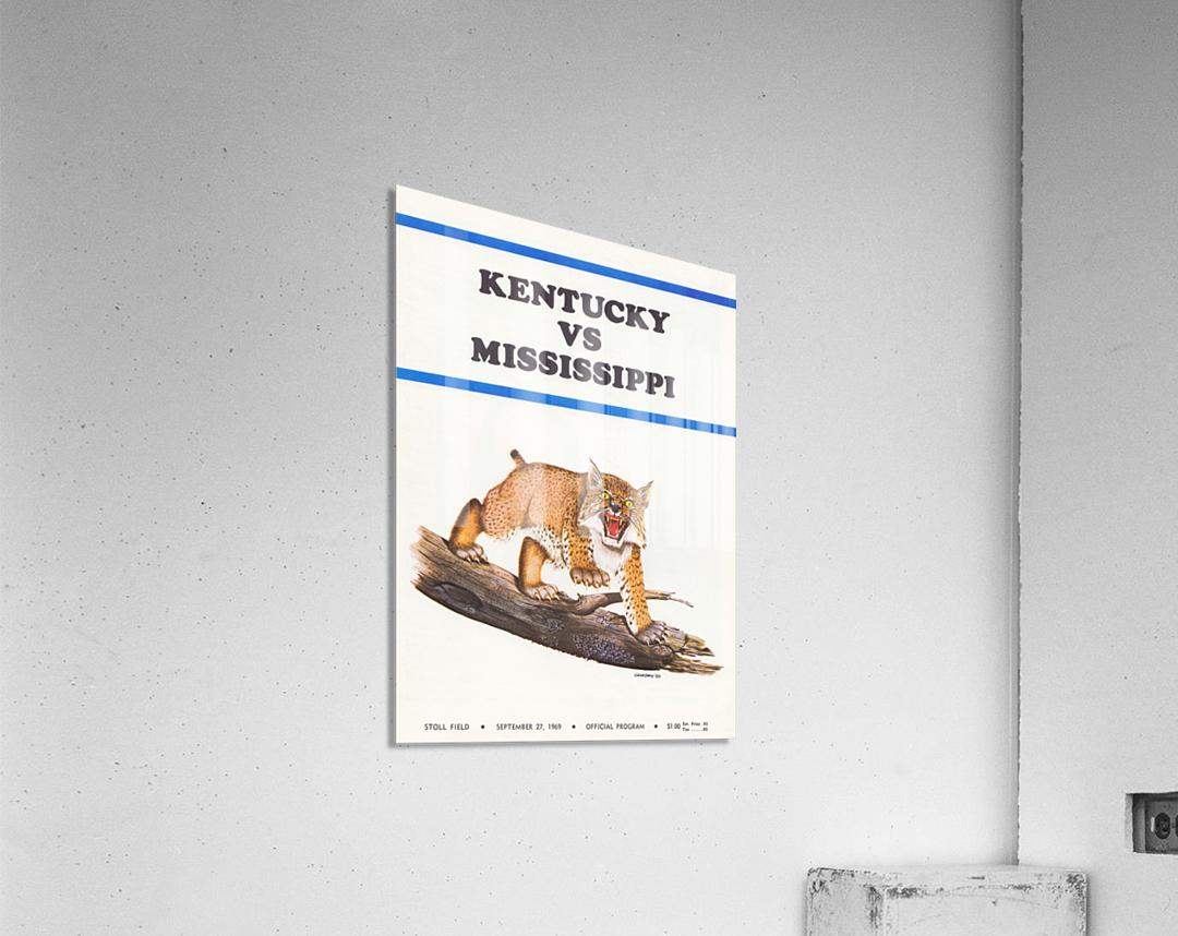1969 Kentucky vs. Mississippi  Acrylic Print