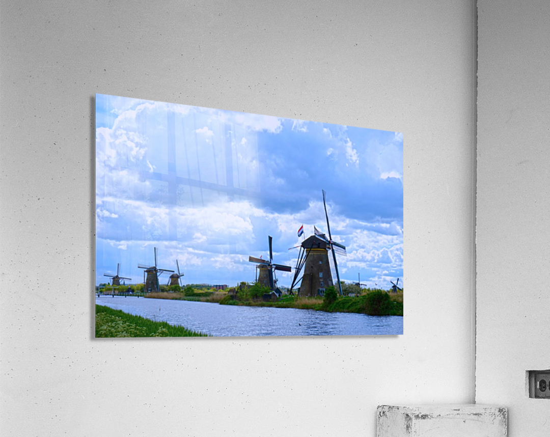 Windmills of the Netherlands 1 of 4  Acrylic Print