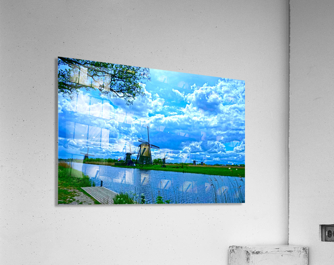 Windmills of the Netherlands 2 of 4  Acrylic Print