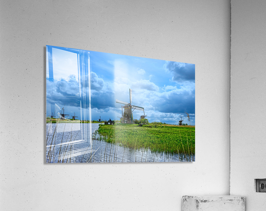 Windmills of the Netherlands 3 of 4  Acrylic Print
