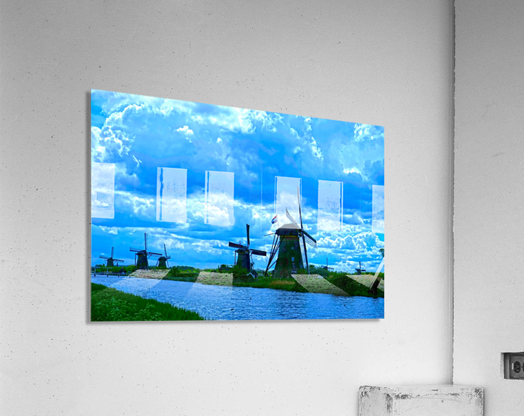 I Dreamed of Windmills  Acrylic Print