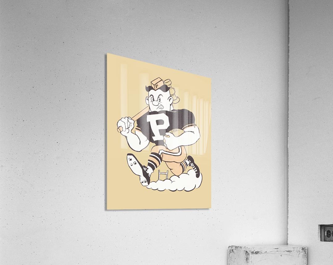 1981 Purdue Pete Art  Acrylic Print