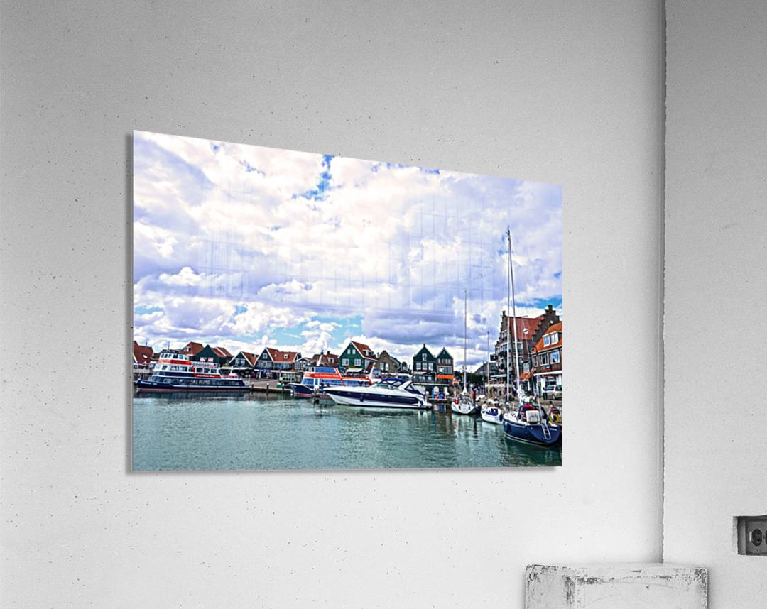 Inland Harbor Netherlands 1 of 5  Acrylic Print