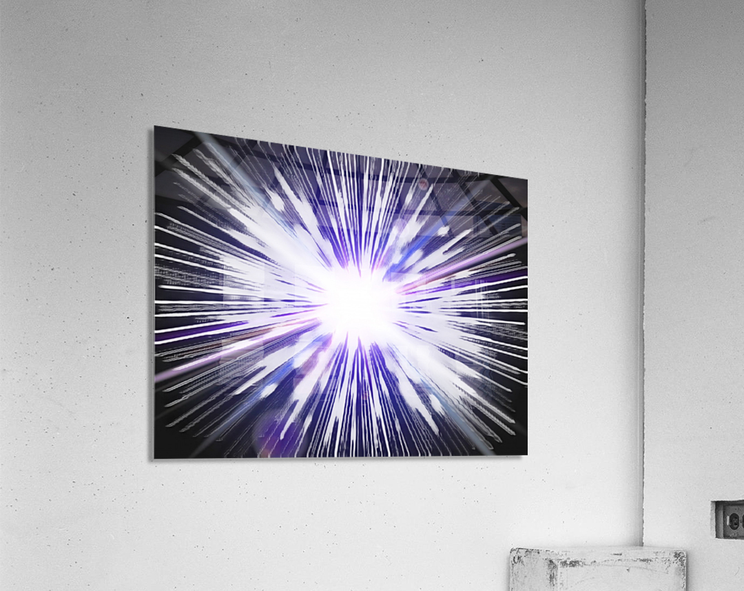 Speed of light  Acrylic Print