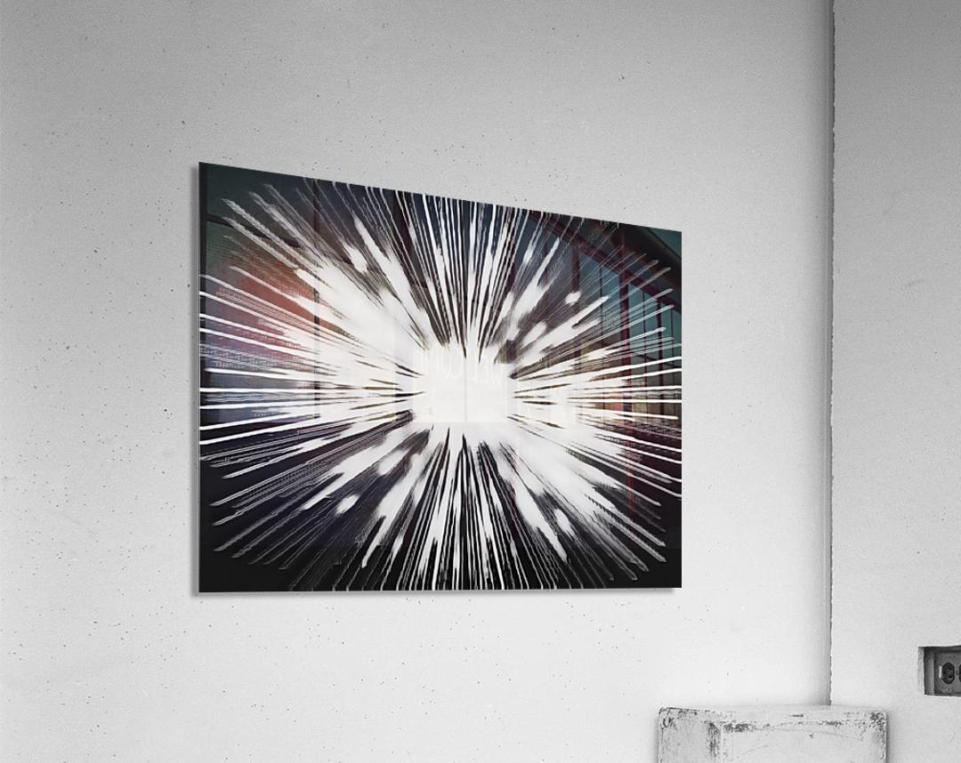 Miracle BNW  Acrylic Print