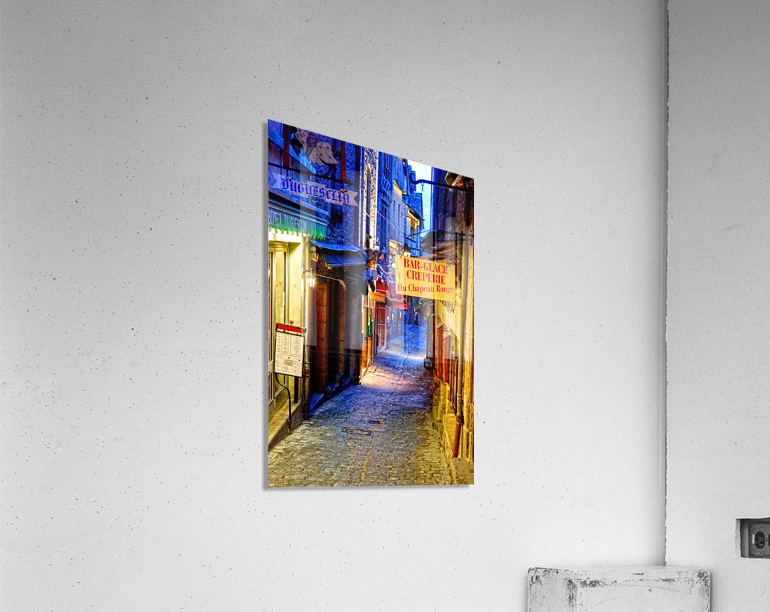 A Day at Mont Saint Michel 4 of 12  Acrylic Print