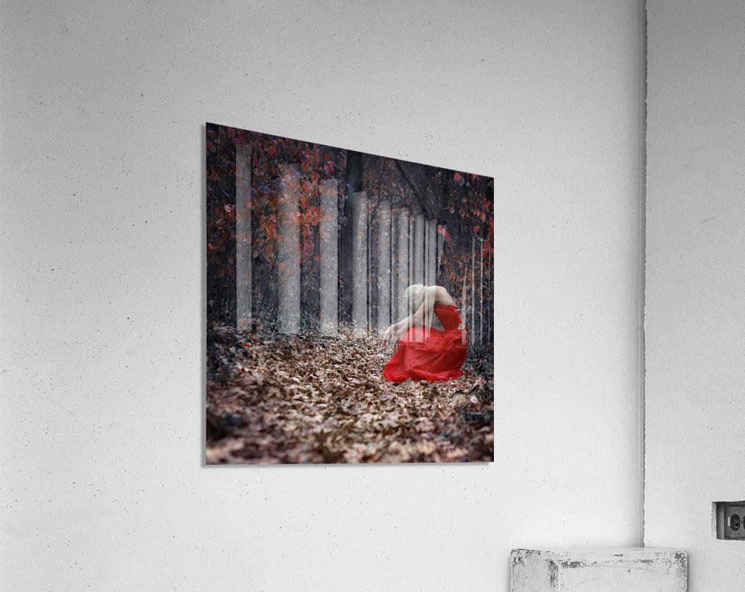 Nice Girls Dont Stay For Breakfast by Anastasiia Zapselskaya   Acrylic Print
