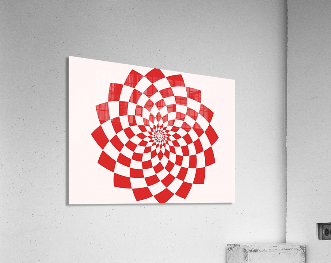 Red flake   Acrylic Print