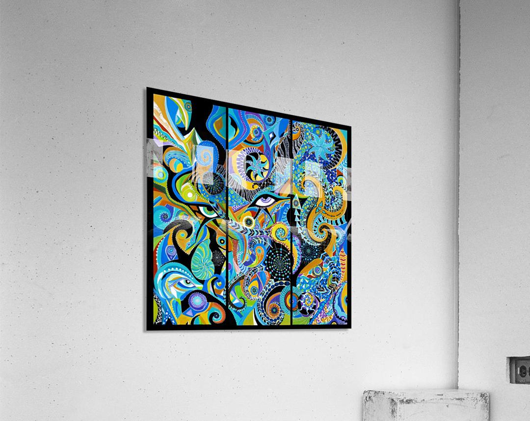 Paon dOr  Acrylic Print