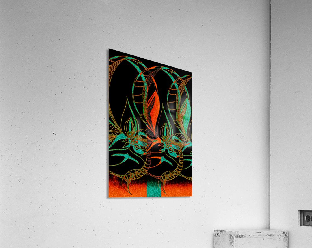 Synchronicit   temporelle  Acrylic Print