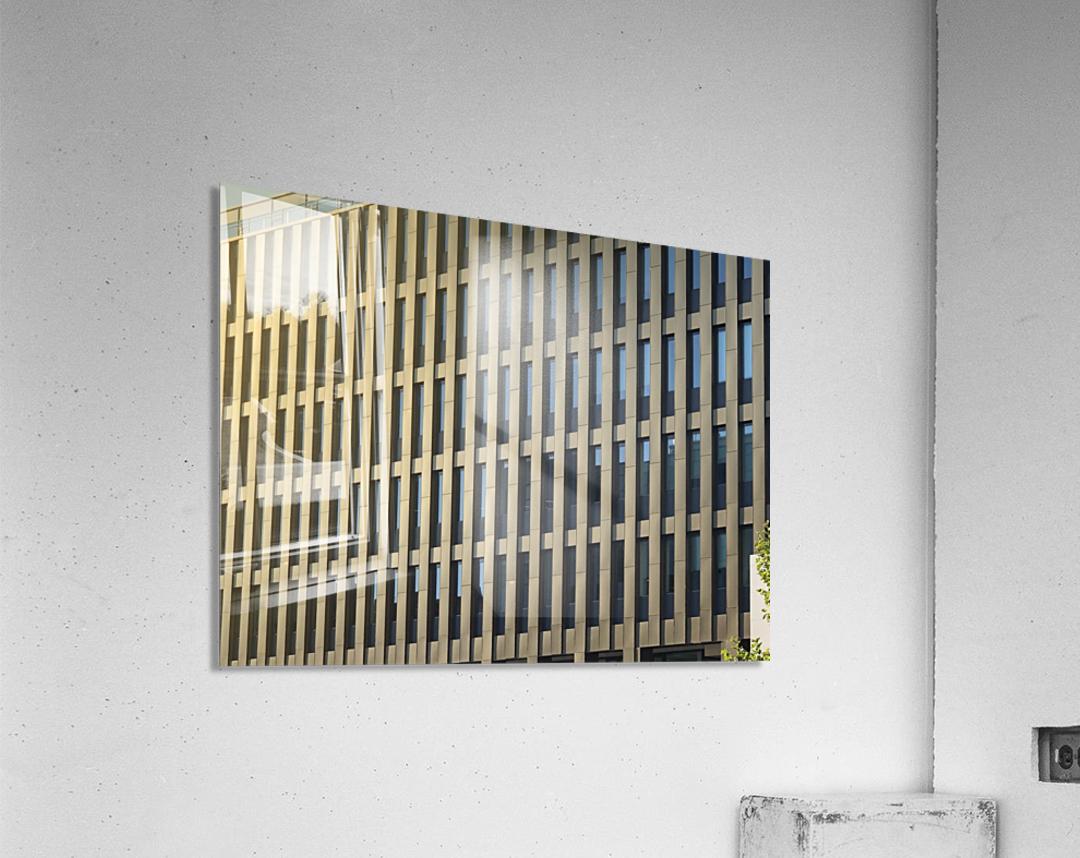 buildings windows   Acrylic Print