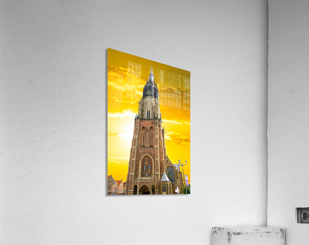 A Dream of the Netherlands 4 of 4  Acrylic Print