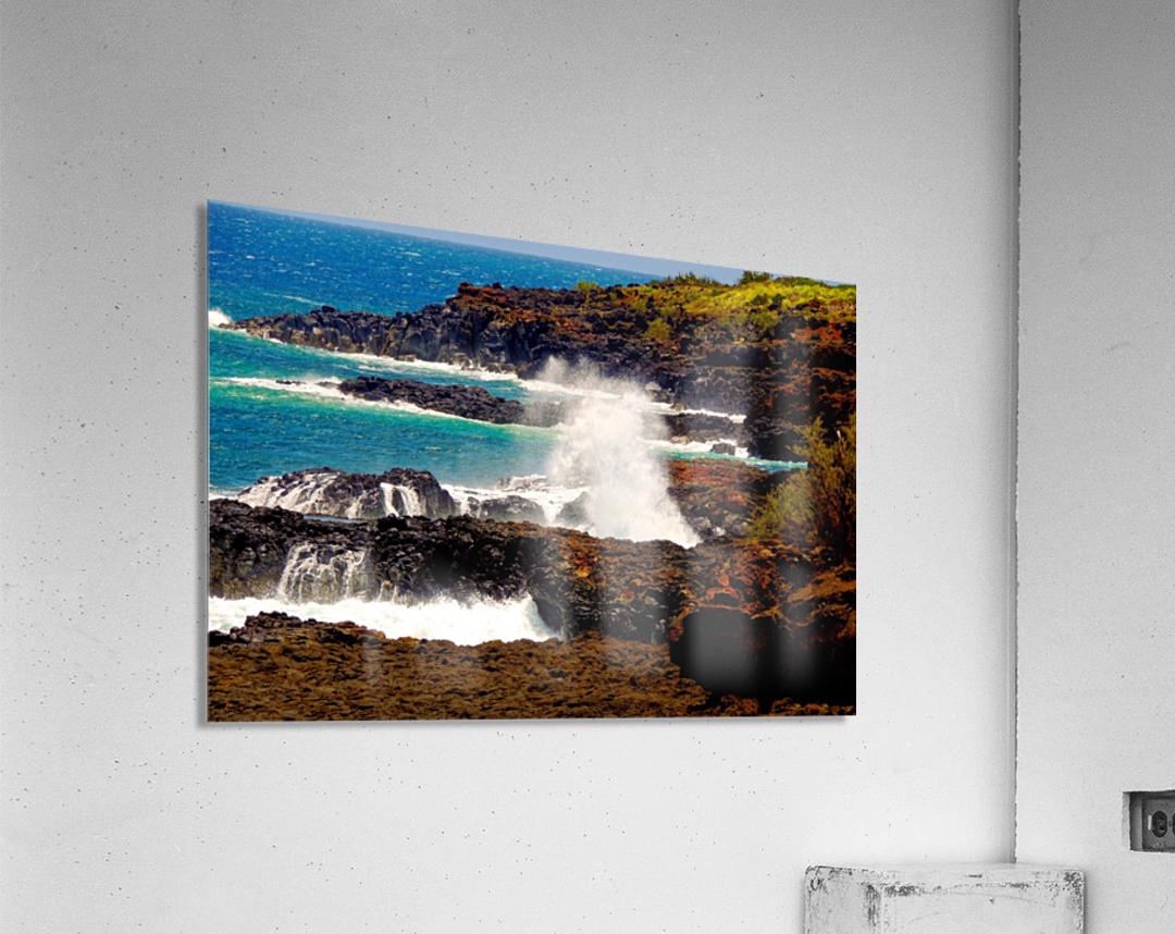 Rugged Kauai  Acrylic Print