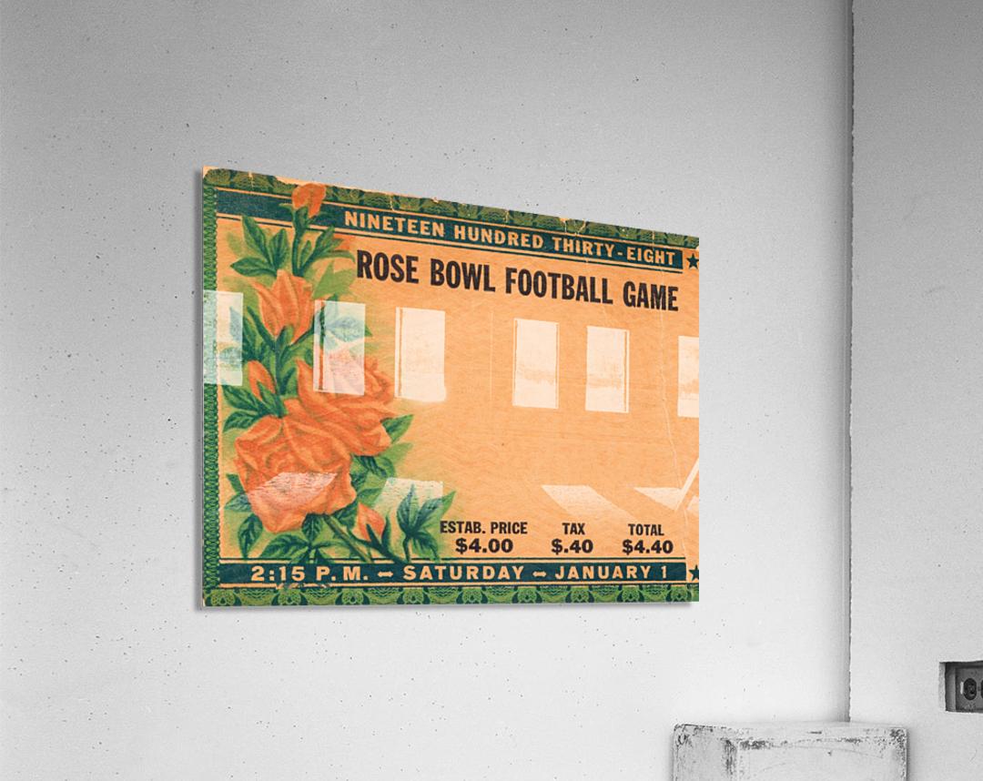 1938 Rose Bowl California Win  Acrylic Print