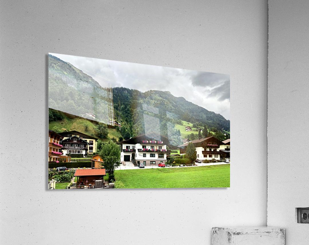 Hofgastein Dolomities Alpen  Acrylic Print