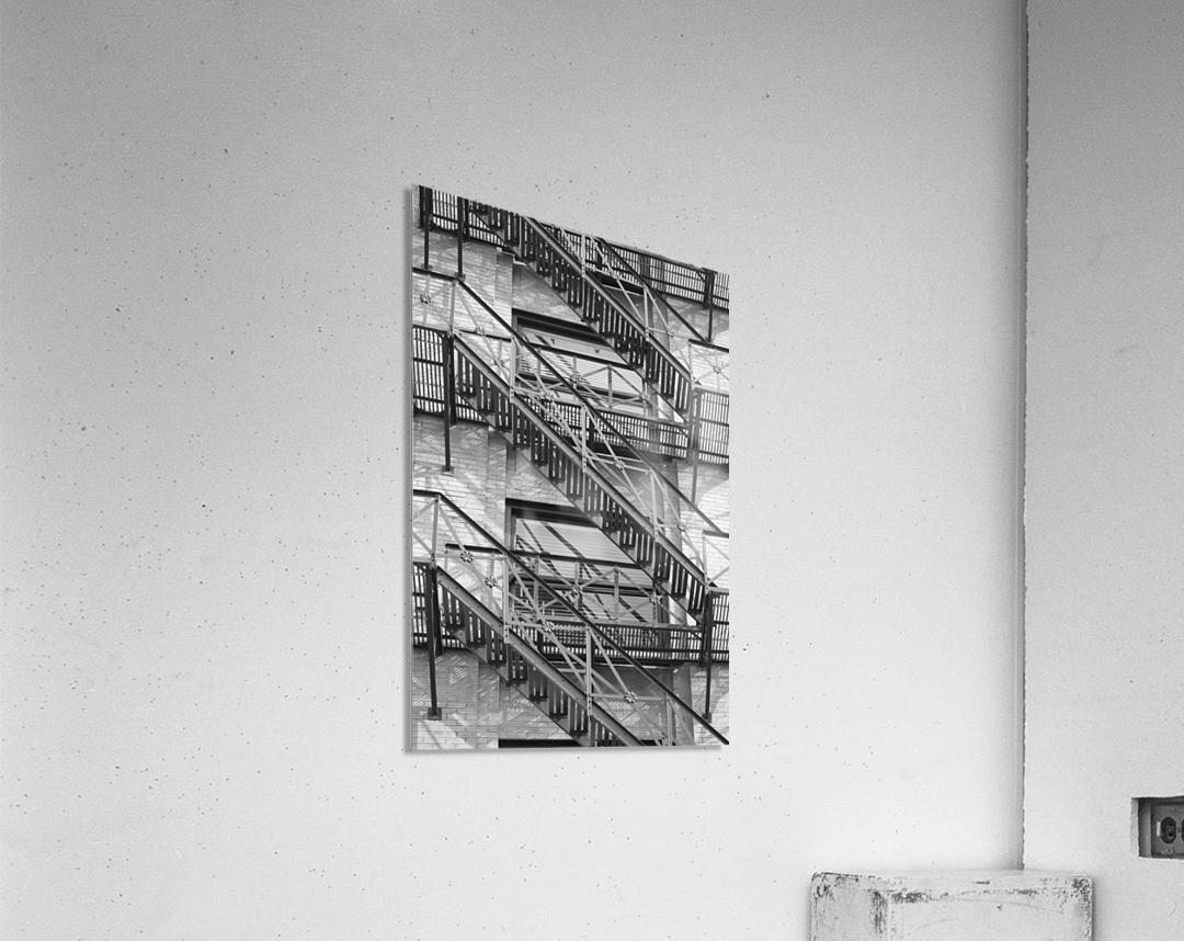 ASCEND DESCEND  Acrylic Print