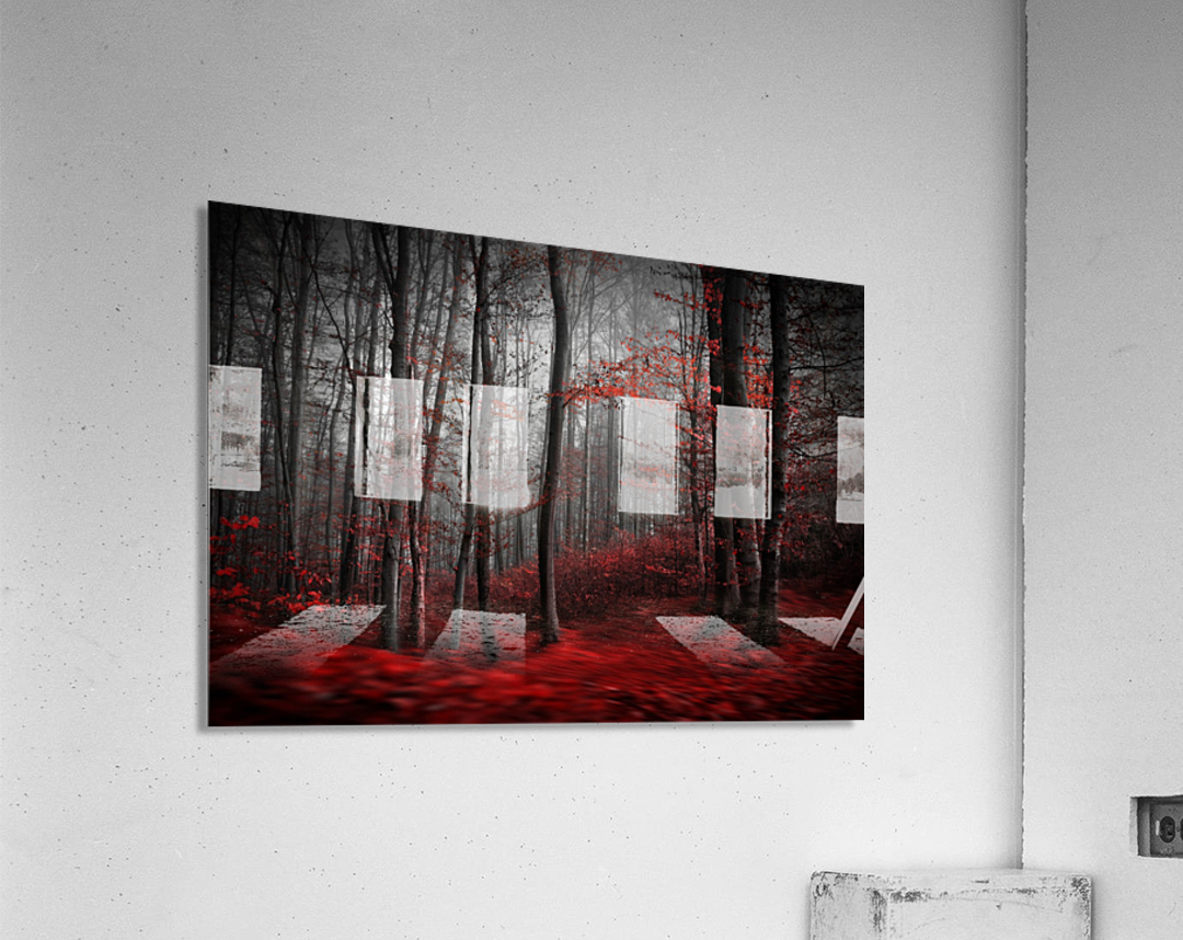 Bloody River  Acrylic Print