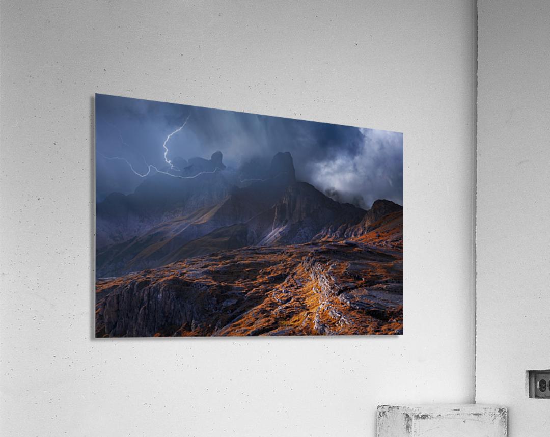 Bergwetter  Acrylic Print