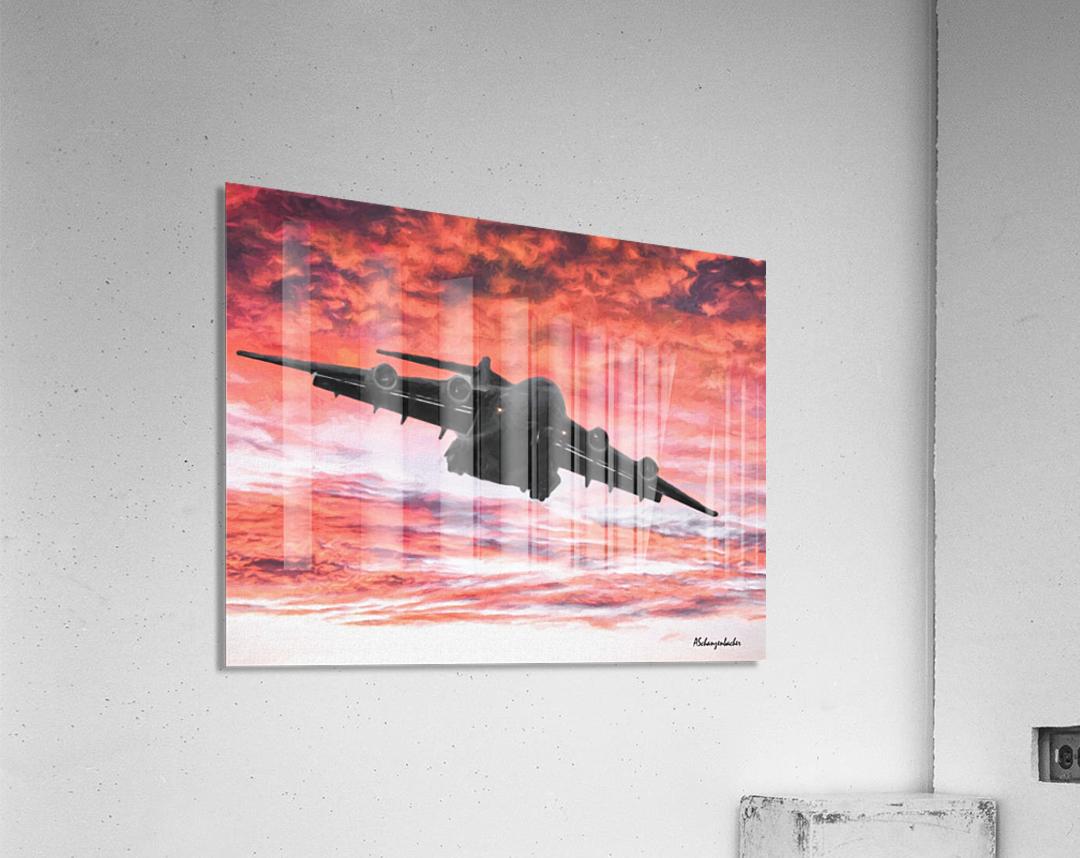 Soaring in the sky  Acrylic Print
