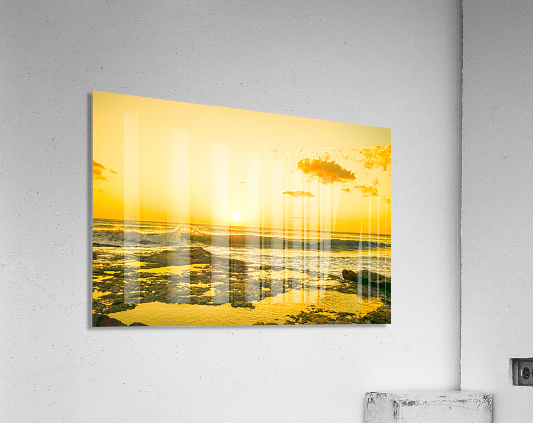 Golden Moment  Acrylic Print