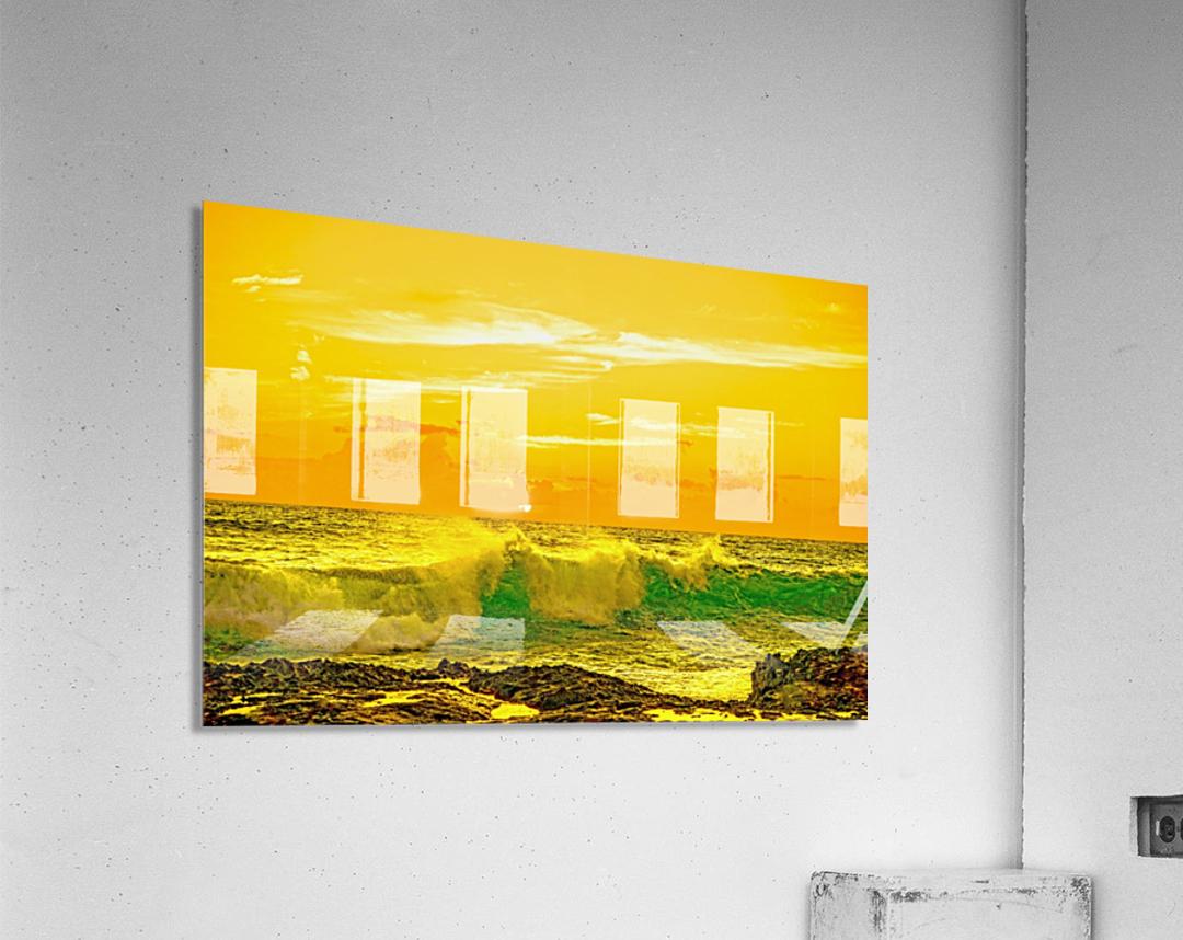 At the Sea Shore  Acrylic Print