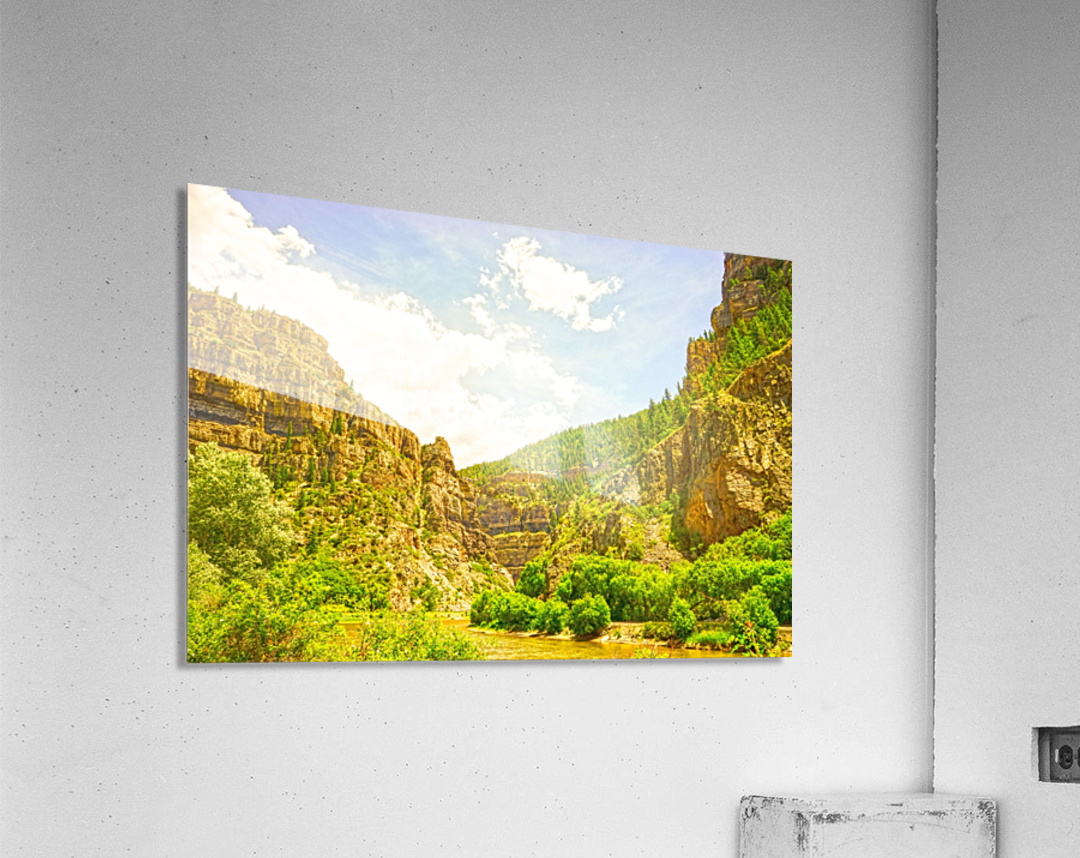 Golden Colorado 2  Acrylic Print