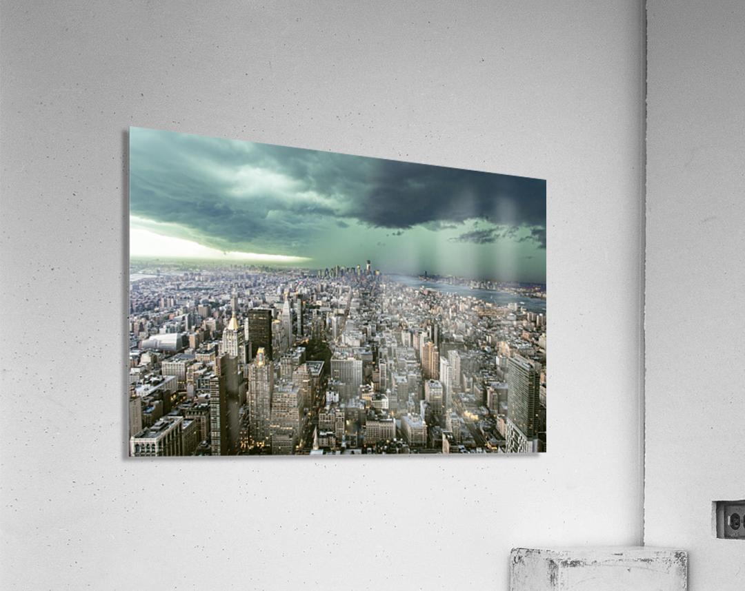 New-York under storm by Pagniez    Acrylic Print