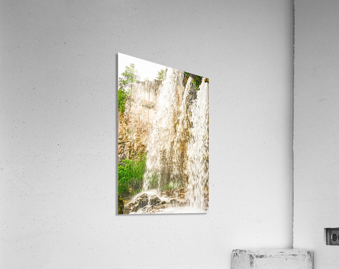 Rocky Mountain Rapids and Waterfalls 3 of 8  Acrylic Print