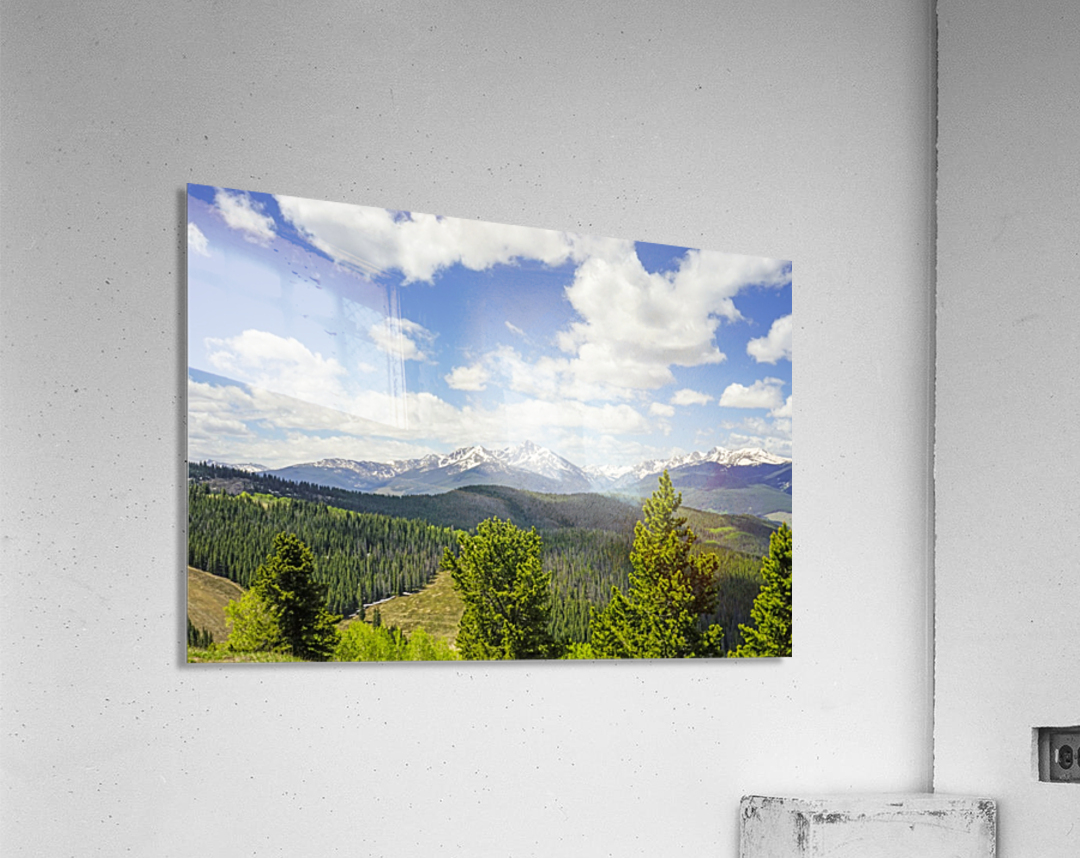 Back Country Colorado 1 of 8  Acrylic Print