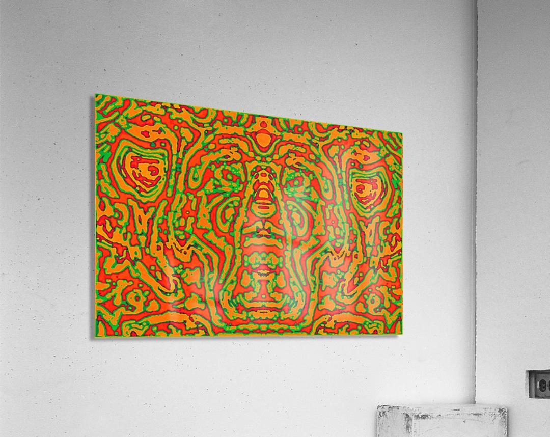 CAPRICIOUS AUDACITY I  Acrylic Print