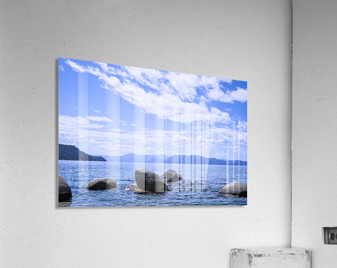 Perfect Day at the Lake  Acrylic Print