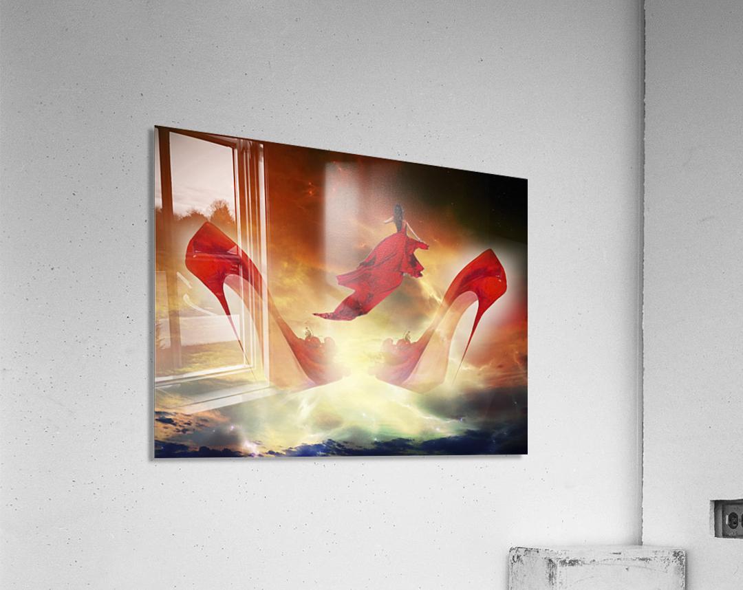 Je menvole  Acrylic Print