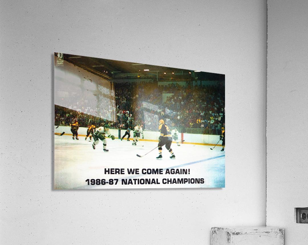 1987 University of North Dakota Hockey  Acrylic Print